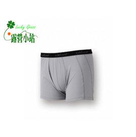 大林小草~【W1682-91-灰色】WildLand 荒野 男透氣排汗四角內褲-【國旅卡】