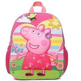 女童小豬佩琪佩佩豬幼儿園大班兒童書包卡通可愛動物圖案防水背包