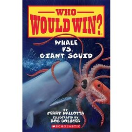 WHO WOULD WIN  WHALE VS GIANT SQUID 科學讀本^(動物^