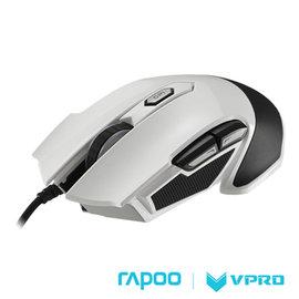 雷柏 RAPOO VPRO V310全彩RGB電競雷射遊戲滑鼠~白