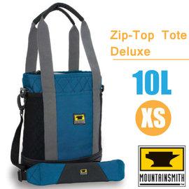 【美國 MountainSmith】Zip-Top Tote Deluxe 時尚多功能可提可背側背包10L(XS).托特包.單肩包.便利手提袋.置物袋/P070-07-70138 藍