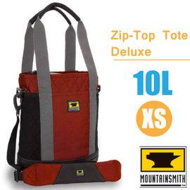 【美國 MountainSmith】Zip-Top Tote Deluxe 時尚多功能可提可背側背包10L(XS).托特包.單肩包.便利手提袋.置物袋/P070-07-70138 紅