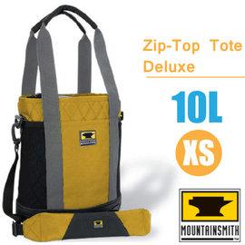 【美國 MountainSmith】Zip-Top Tote Deluxe 時尚多功能可提可背側背包10L(XS).托特包.單肩包.便利手提袋.置物袋/P070-07-70138 黃