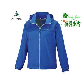 大林小草~【A-G1507M-寶藍】Atunas 歐都納 男款 輕薄外套-【國旅卡】