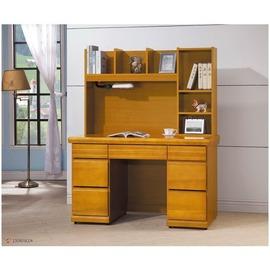 ~CY226~394~ 天長地久香杉色4.2尺書桌^(全組^)