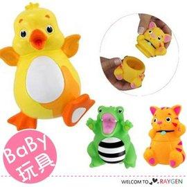 貓咪黃鴨可拆式可噴水寶寶洗澡玩具【HH婦幼館】