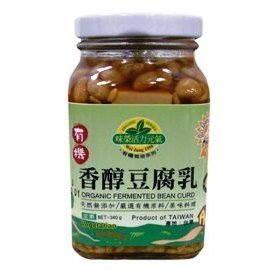 味榮 有機香醇豆腐乳340g 罐