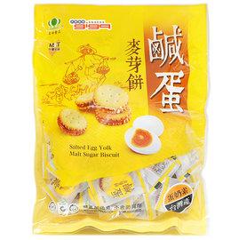 【吉嘉食品】昇田鹹蛋黃麥芽餅-蛋奶素.1包500公克103元{007-52:1}