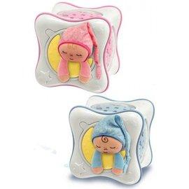Chicco 絢麗彩虹投射夜燈 (粉藍/粉紅 兩色可選) 再贈:品牌隨手包濕巾*1