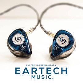^~MY IEM 訂製耳機^~ 美國 Eartech Music 三單體 Triple D