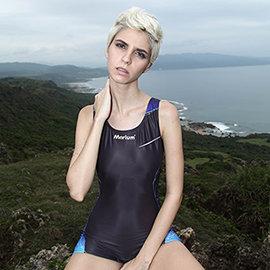 ≡MARIUM≡ 大女休閒四角泳裝 MAR~6065W ^(簡單  健身 泡湯 連身 泳衣