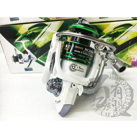 ◎百有釣具◎進口品牌 優而酷 捲線器 12+1培林 HC-5000 市售培林數最高 價格最優惠超值款