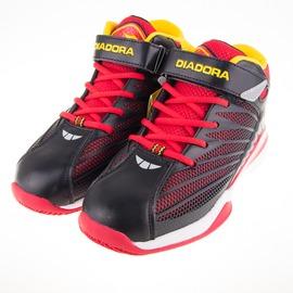 DIADORA  大童籃球鞋-黑/紅 DA6AKB3532