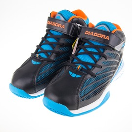 DIADORA  大童籃球鞋-黑/藍 DA6AKB3536