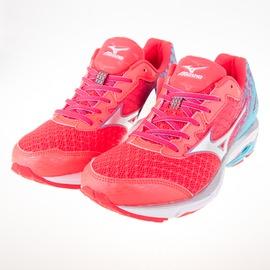 Mizuno  慢跑鞋的代名詞 WAVE RIDER 19(W) 寬楦 女慢跑鞋 J1GD160608