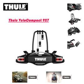 ~汽車 ~Thule 都樂 VeloCompact 927 拖車球式腳踏車架 3台 拖桿式