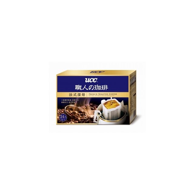 金時代書香咖啡~UCC~法式深焙濾掛式咖啡 8g^~24入