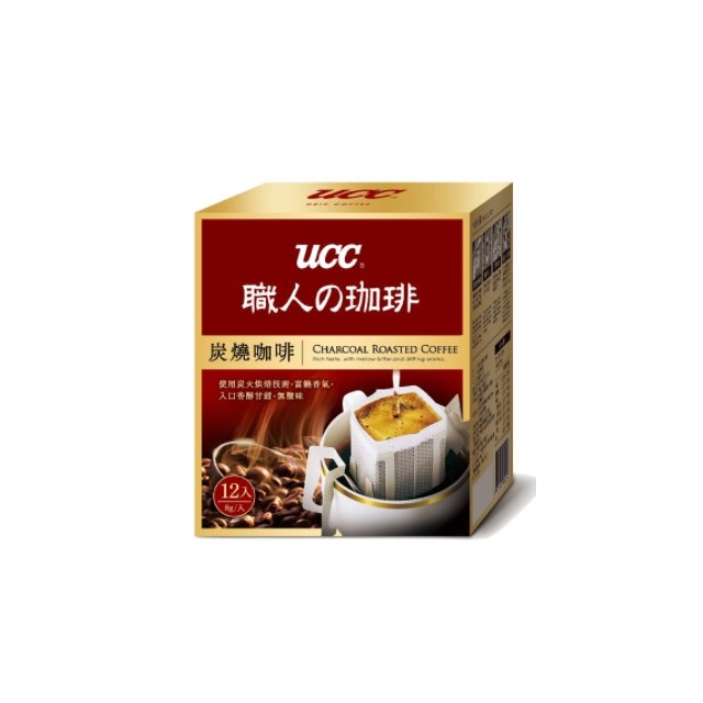 金時代書香咖啡~UCC~炭燒濾掛式咖啡 8g^~12入