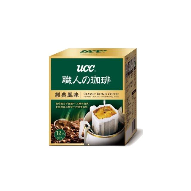 金時代書香咖啡~UCC~ 風味濾掛式咖啡 8g^~12入