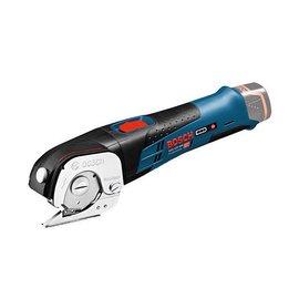 BOSCH 10.8V鋰電通用電剪GUS10.8V-LI(單機)★各種軟材質快速切割★自動切割出不同厚度