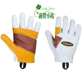 大林小草~【GBR】BEAL 法國 RAPPEL GLOVES 皮革工作手套-【國旅卡】