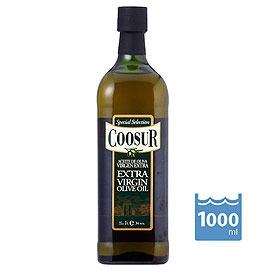 ~特級橄欖油~1L 瓶~2瓶 組~西班牙  山富^(Coosur^)~第一道冷壓 Extr
