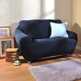 簡約風摩登 彈性沙發套1人座~寶藍