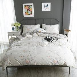 ~PAINT~北歐風格,雅魅花園,精梳棉緞貢,雙人床包,兩用薄被套四件組 A0101151