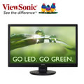 ~強越電腦~  品   ViewSonic 優派 VA2445M~LED 24吋 內建喇叭