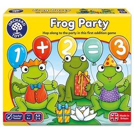 英國 Orchard Toys 益智遊戲組 青蛙派對 Frog Party