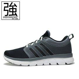 ~Jordanjump~adidas Cloudfoam Groove 男 黑 白 潛水布