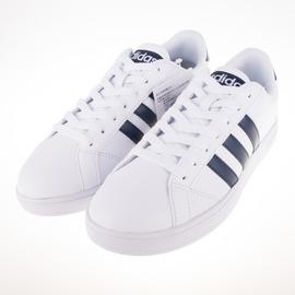ADIDAS  NEO系列 休閒復古鞋-白/黑 AW4618