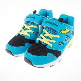DIADORA  黏扣 兒童休閒 慢跑鞋-藍 DA6AKC3586