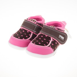 IFME  寶寶運動機能鞋-咖/粉 IF22-670523