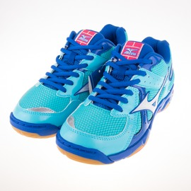 Mizuno  女 高CP值 WAVE TWISTER 4  羽球 排球鞋 V1GC157017