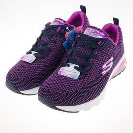 Skechers  (女)氣墊 運動系列 Skech Air 慢跑鞋-紫/黑 12721NVPR