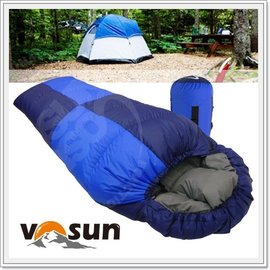 VOSUN 台灣製造 熱賣款 小百岳信封型純水鳥羽絨睡袋300g(美國杜邦防潑水)登山露營二用.可左右合併成羽絨被/非Lirosa,logos UFO-300