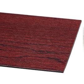 MAKINOU 奈米耐磨抗菌長型自黏木紋地磚^(18入^)~紅檜木