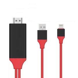 藝鬥士 蘋果轉HDMI USB二合一高清連接線 iphone轉HDMI有線影應傳輸線 手機