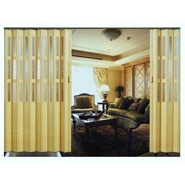 ^~禾豐窗簾壁紙^~110mm強化型典雅挖孔壓方框pcv塑膠拉門^(6色^) 塑膠拉門裝潢