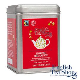 ~英國茶舖~英倫早餐茶^(100g方鐵~散茶^)