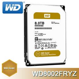WD GOLD 金標 8TB SATA 3.5吋 企業級 硬碟 ^( WD8002FRYZ