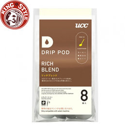 金時代書香咖啡~UCC~DRIP POD  綜合咖啡膠囊 7.5g^~8入