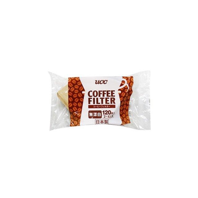 金時代書香咖啡~UCC~無漂白濾紙CF~2  2^~4人用 ^(120枚入^)