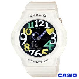 CASIO卡西歐 Baby~G超 霓虹照明果凍新色3D時刻繽紛錶 BGA~131~7B4
