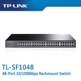TP~LINK TL~SF1048 48~Port 10 100Mbps 商用 非管理型