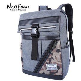 男士潮流學生休閒書包電腦包雙肩後背包 焦點包包鋪