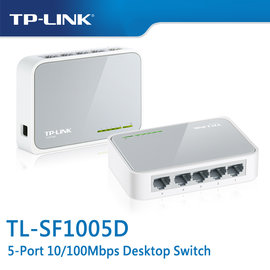 TP~LINK TL~SF1005D 5~Port 10 100Mbps 商用 非管理型