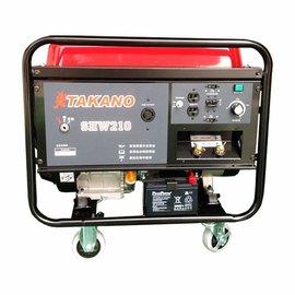 TAKANO 汽油發電電焊機ETASHW210★風冷式單缸四衝程