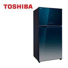 ~ 品~TOSHIBA東芝 554公升變頻玻璃鏡面系列雙門電冰箱GR~WG58TDZ
